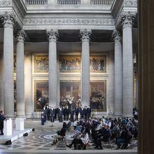 150 ans de République- Emmanuel Macron rend hommage aux grandes figures dont celle du guyanais Félix Eboué au Panthéon