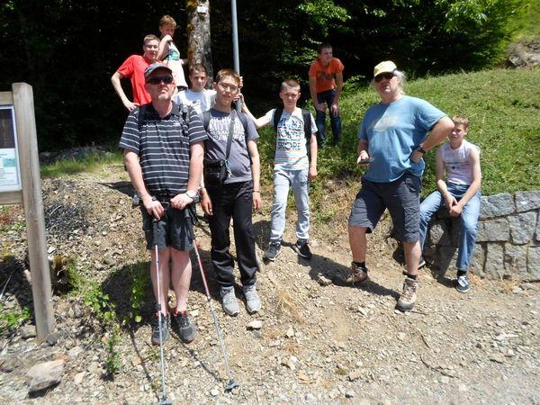 Dernière étape de la préparation au séjour dans les Alpes