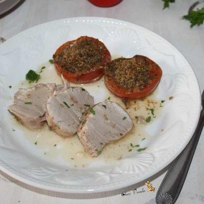 Filet mignon provençal