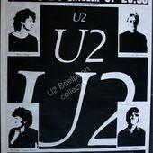 U2 -Affiche concert -Brielport - Belgique 1981 - U2 BLOG