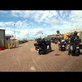 Goldwing Unsersbande - Rosslare mise en place embarquement