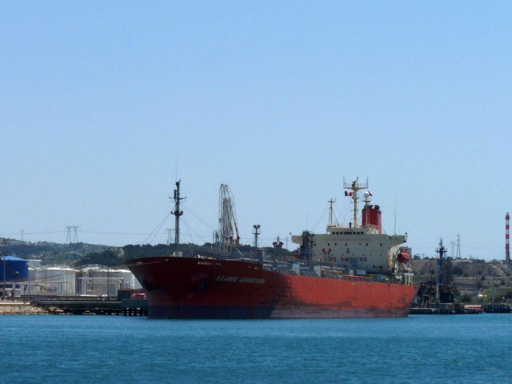 SAAMIS ADVENTURER , a quai dans le port de Lavera le 27 mai 2015