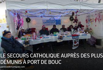 LE SECOURS CATHOLIQUE AUPRÈS DES PLUS DÉMUNIS À PORT DE BOUC