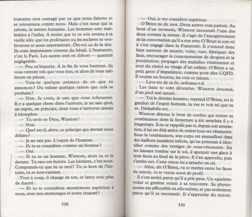 GEORGE ORWELL - 1984 - 5 - LE DERNIER HOMME*m