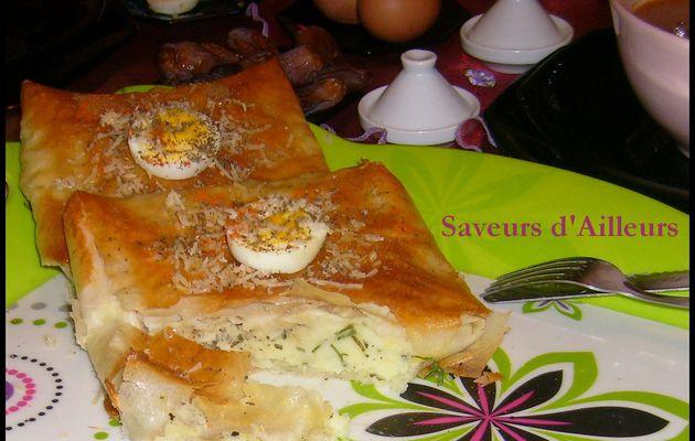 Un dîner aux allures Ramadanesques : Soupe Casablancaise + Brick