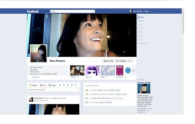 Tres pasos para activar el Timeline de Facebook