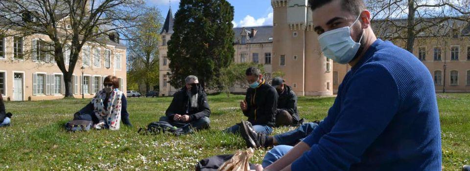 À Châteauroux, Semih Afacan sonde le mal-être des étudiants (nr.fr, le 08.04.21)