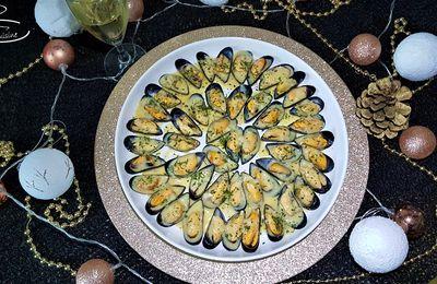 spécial fêtes de fin d'année n°3 : moules à la sauce crémée au citron et blanc de blancs Volner