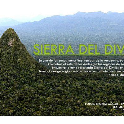 AMENAZAS SOBRE BIOLOGÍA Y CULTURA DE LA SIERRA DEL DIVISOR