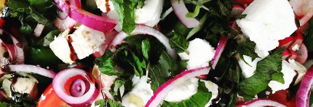 Salade grecque mais pas que