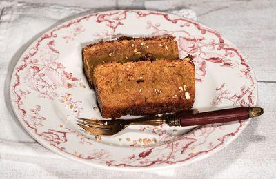 Gâteau doux au praliné (très facile)