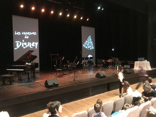 Spectacle de Noël à L'Estran: les chansons et musiques de Walt Disney