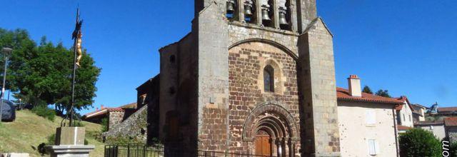 Le village de Landos (2) : L'Église Saint-Félix / Balade en Haute-Loire