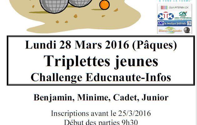 TOUS A MILLAU pour la 3ème Etape du Challenge EDUCNAUTE-INFOS