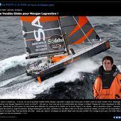 Le skipper de Safran, Morgan Lagravière livre ses sentiments à propos du Vendée Globe - OOKAWA Corp. Raisonnements Explications Corrélations