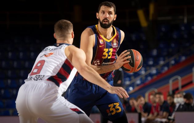 EuroLeague : Barcelone domine Vitoria et conserve son fauteuil de leader