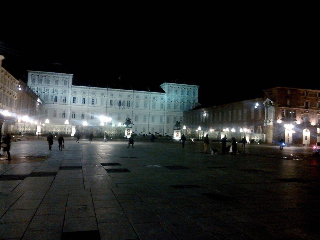 Ballades à Turin ! On est opérationnel de nuit comme de jour et par tous les temps !