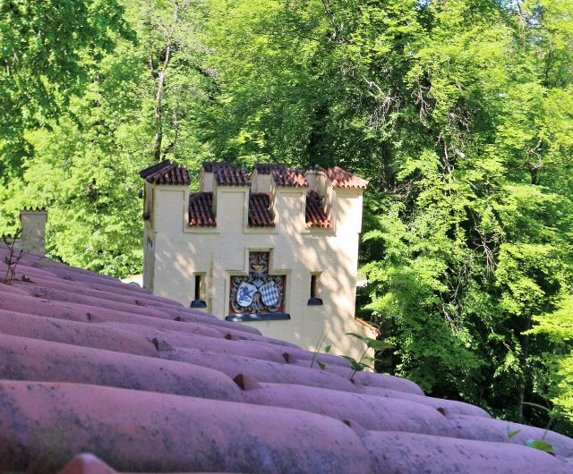 Jardins du château Hohenschwangau Allemagne