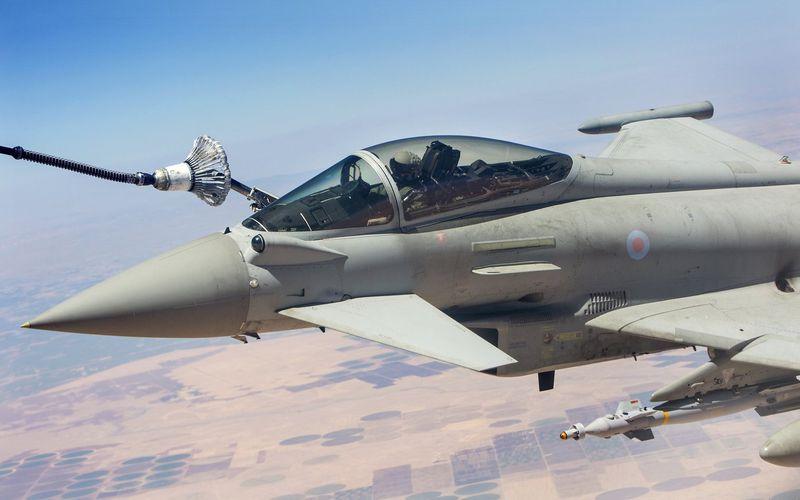 Levant : Des Typhoon de la Royal Air Force effectuent une mission de plus de 8 heures