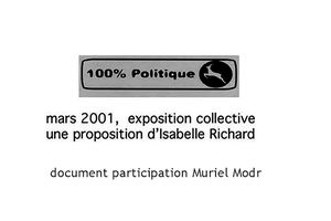 Document exposition collective 100% politique