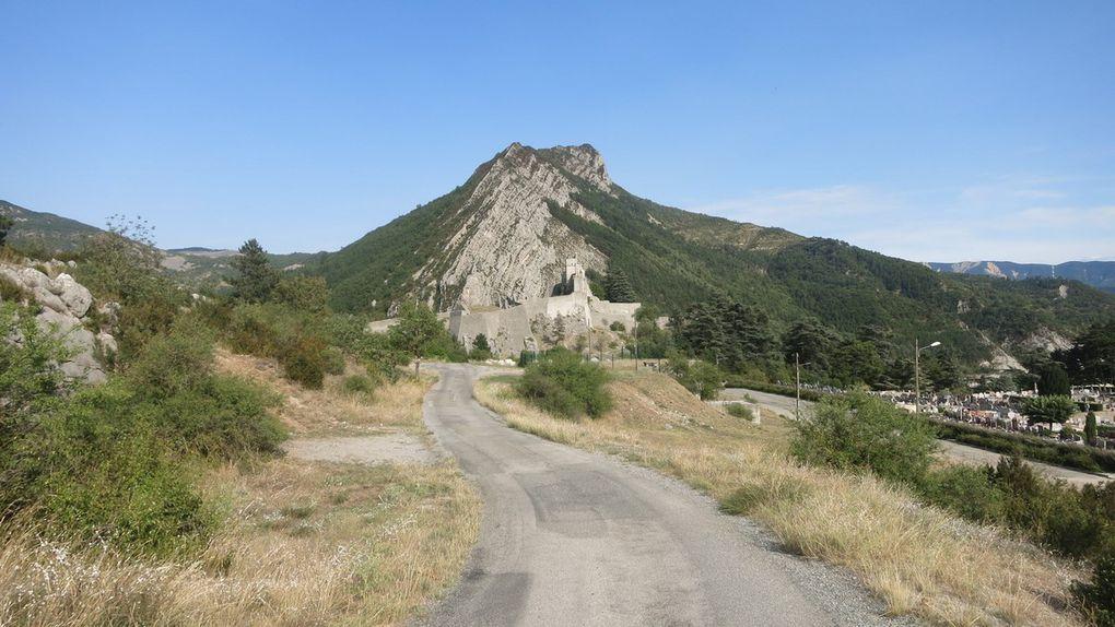 6 septembre etape 11 d'Orpierre à Sisteron 65 km