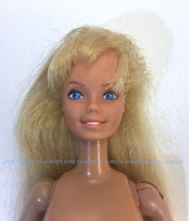 """BEAUTY SECRETS"" BARBIE DOLL 1979 MATTEL #1290"