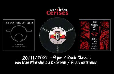 🎵 The Mistress of Jersey (THE SISTERS OF MERCY tribute band) performing 'First and Last and Always,' in its entirety plus extended encore of Sisters of Mercy classics @ Rock Classic - 20/11/2021