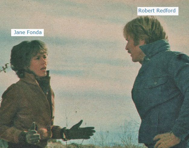 Robert Redford  Jane Fonda