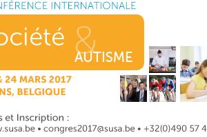 Conférence internationale Susa - Société et Autisme - 23-24 mars 2017
