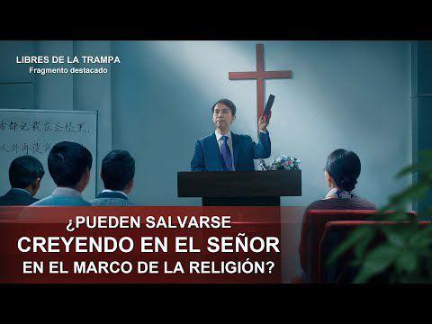 """Película evangélica """"Libres de la trampa"""" Escena 4 - ¿Pueden salvarse creyendo en el Señor en el marco de la religión?"""