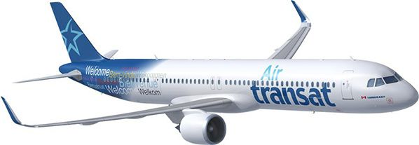 Air Transat signs an agreement to lease 10 new Airbus A321neo LRs