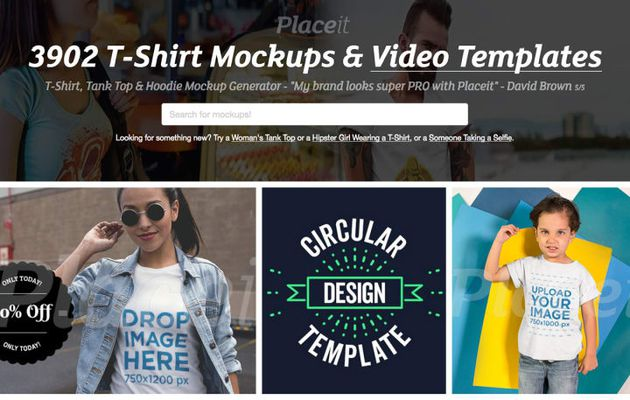 Placeit generates mockup on many devices including How to Quickly Start a T-Shirt Store