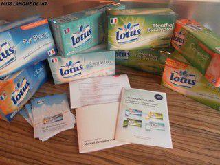 Campagne TRND : Les mouchoirs LOTUS #2