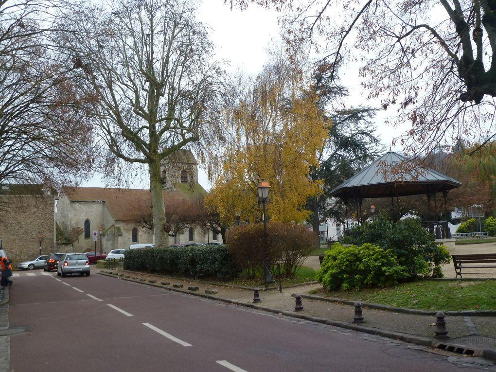 Randonnée de Mareil-sur-Mauldre à Villennes-sur-Seine - 20,5 km.