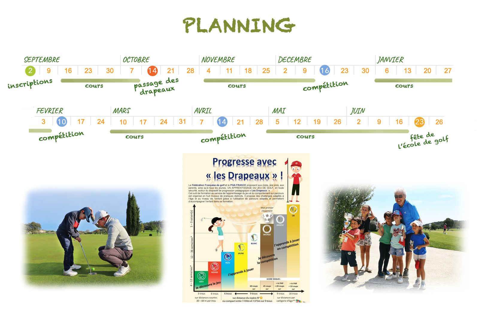 PLANNING COURS 2020/2021