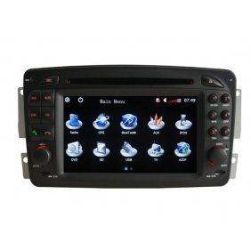 40 lcd tv | Online Piennoer Car GPS Original Fit(1998-2002) Mercedes Benz E Class W210 6-8 Inch Touchscreen Double-DIN Car DVD Player  &  In Dash Navigation System,Navigator,Built-In Bluetooth,Radio with RDS,Analog TV, AUX & USB, iPhone/iPod Controls,steering wheel control, rear view camera input