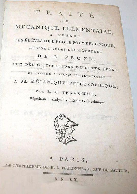 Francoeur (Louis Benjamin) (1773-1849).