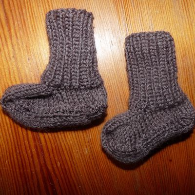 chaussons, chaussettes