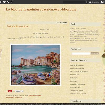 Le blog de mapeinturepassion.over-blog.com