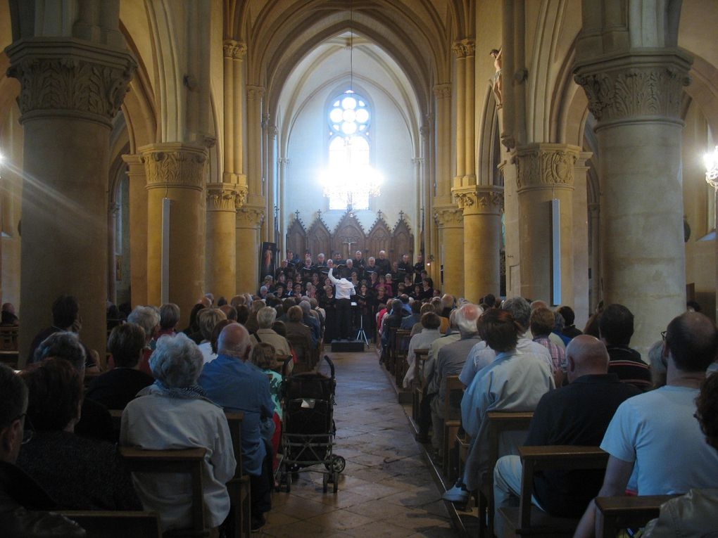Concert du 2 juillet 2016 Eglise Saint Léger IS SUR TILLE