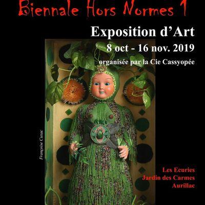 Exposition Biennale Hors Normes Volcanique à Aurillac