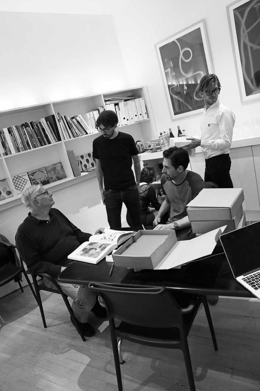 Louis Cane, François Ceysson, Franck Chalendard, Loïc Garrier