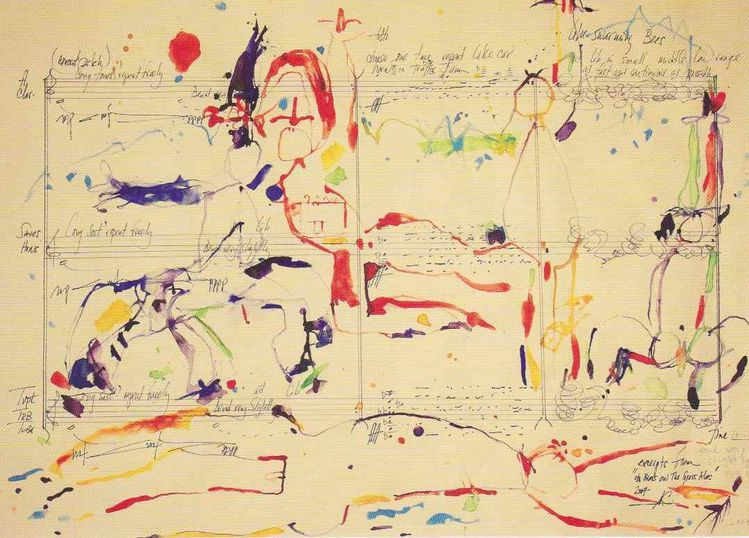 Alvin Curran / Edith Schloss - The Painted Song : Etreindre le corps astral de la beauté !