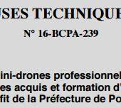 La préfecture de police de Paris lance un AO pour 2 drones - OOKAWA Corp.