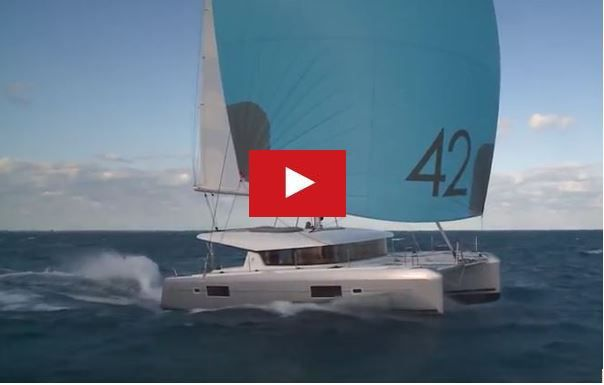 VIDEO - 16 knots aboard a catamaran Lagoon 42