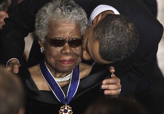 RIP Maya Angelou...
