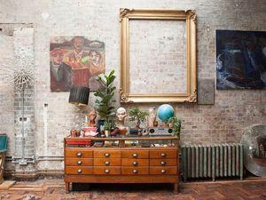 L'esprit bohème d'un ancien atelier londonien