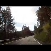 53 Goldwing Unsersbande Tirol 2015 Retour vers col et arrivée Nauders