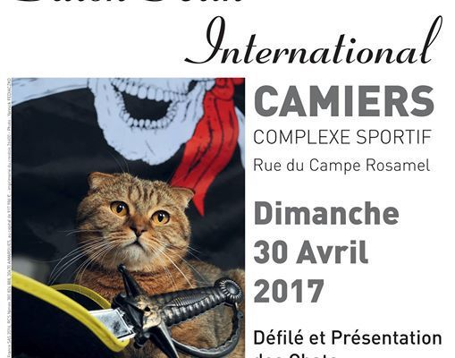 UN SALON FELIN...à CAMIERS...LE 30 AVRIL..
