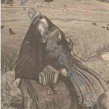 La Jeune Aveugle, A. Mongin d'après J. E. Millais